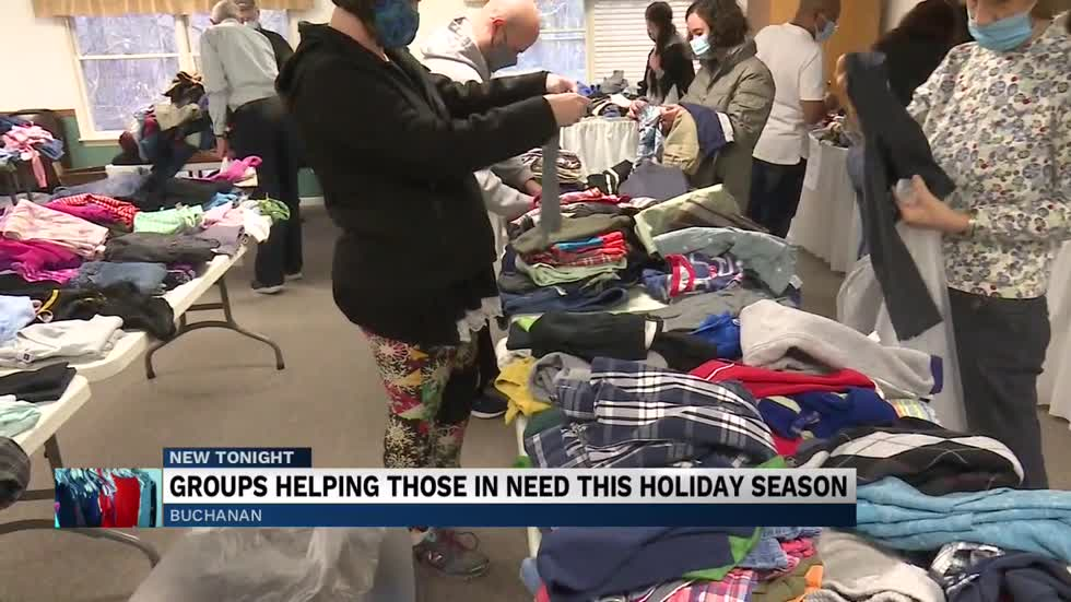 Buchanan Church helps community prepare for winter months by taking in to give back