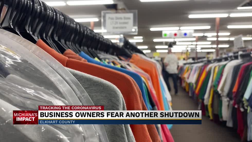 Elkhart County businesses fear another shutdown as Covid grows