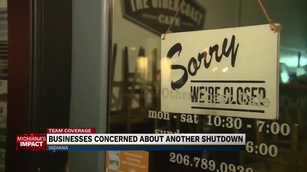 Businesses are concerned another Covid-19 shutdown will close their doors forever