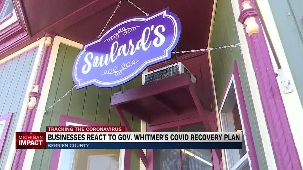 Gov. Whitmer's COVID Recovery Plan pledges to help businesses...