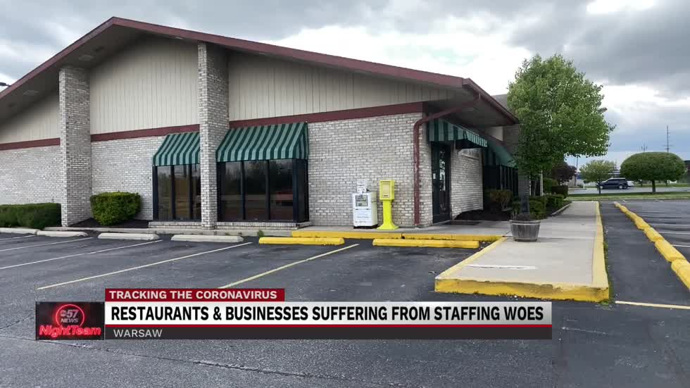 Businesses suffering from staff shortage