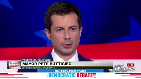Buttigieg asked about problems in South Bend during debate