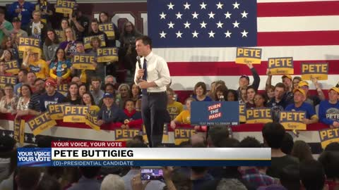 Caucusgoers share why they're caucusing for Pete Buttigieg
