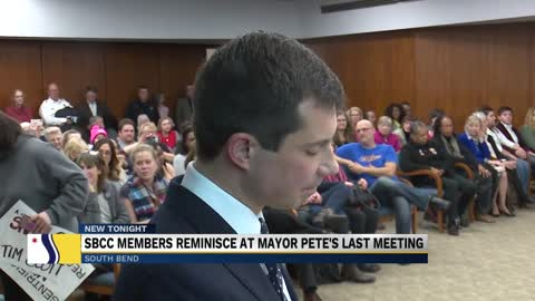 Buttigieg reflects on time as mayor during his last city council meeting