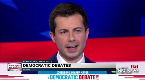 Buttigieg responds to questions on gun control, border issues