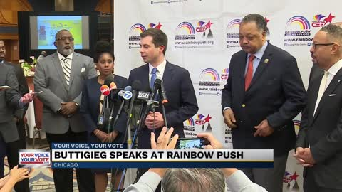 Buttigieg talks racial inequality at Chicago conference; builds voter support