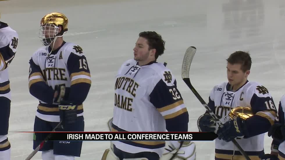 Notre Dame's Morris named Big Ten Player and Goaltender of the Year