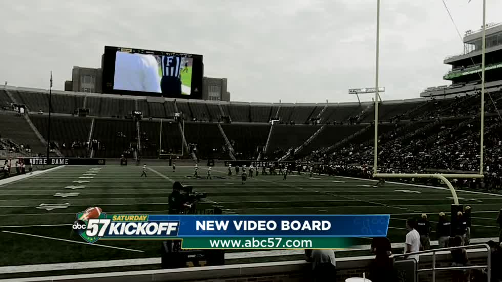Calling the shots: Meet the man behind Notre Dame's new video board