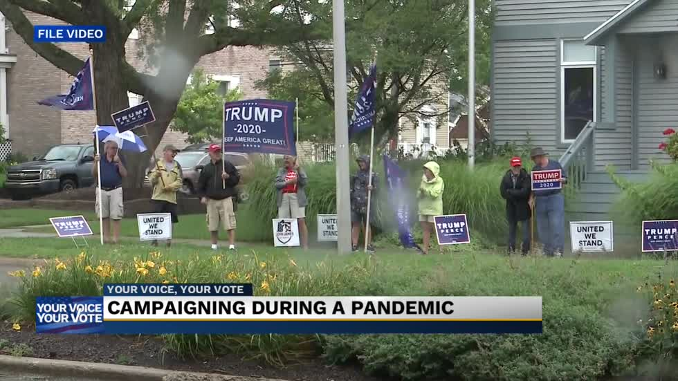 Campaigns across Michiana face unique challenges in pandemic