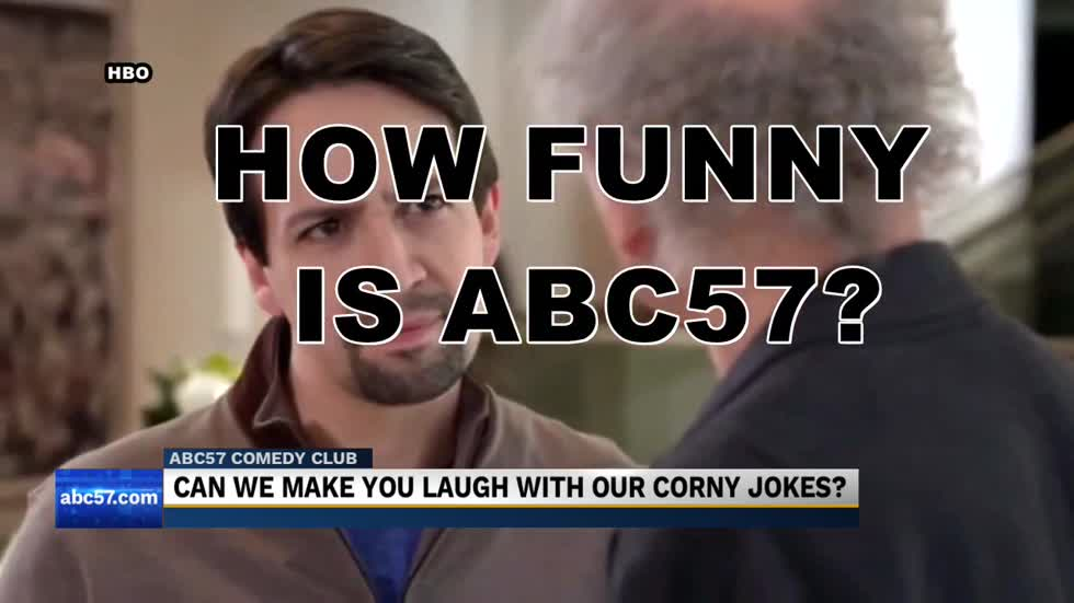 Can the ABC57 News team make you laugh?