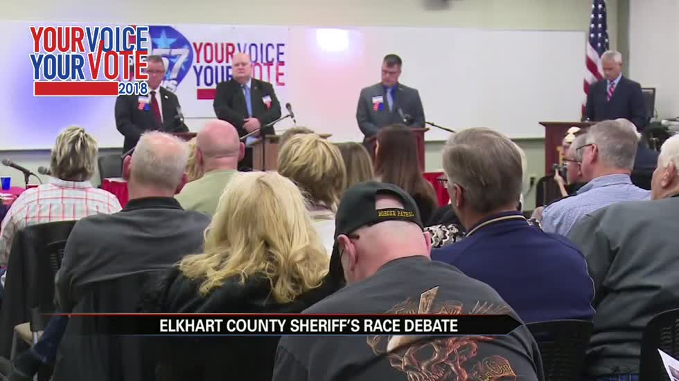 Candidates for Elkhart County sheriff debate ahead of election