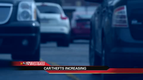 ABC 57 Investigates rising car thefts in South Bend and St. Joe County
