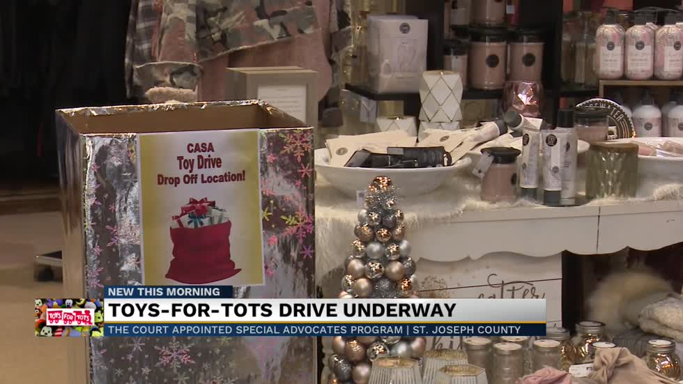 CASA annual holiday toy drive underway