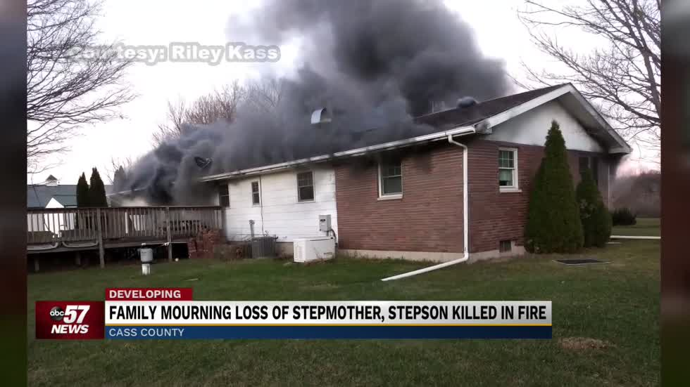 Cass County Family mourns loss of stepson and stepmother in house...