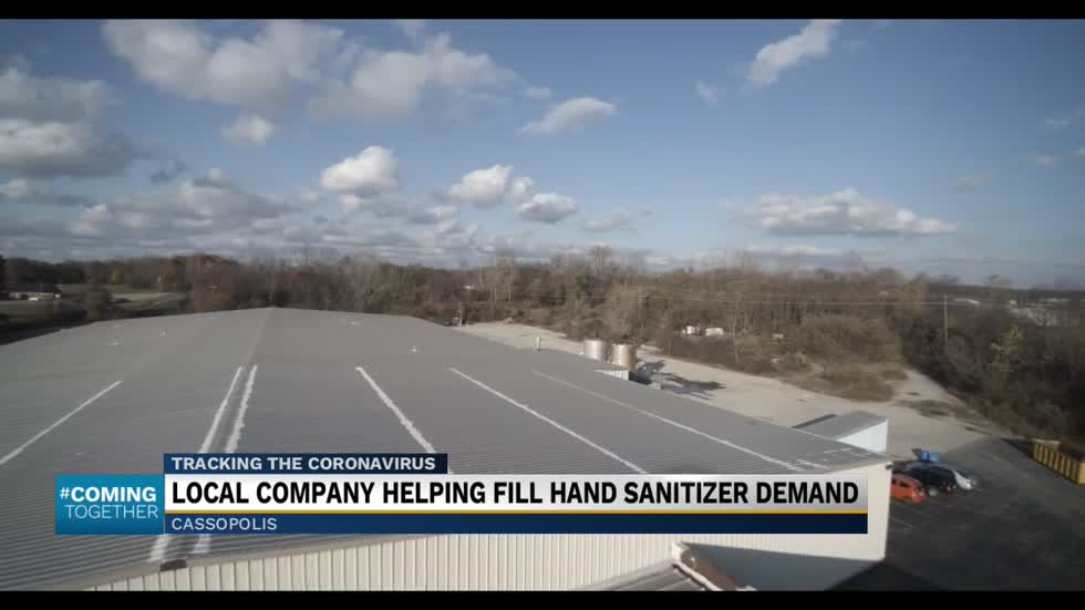 Cassopolis company helping fill demand for hand sanitizer