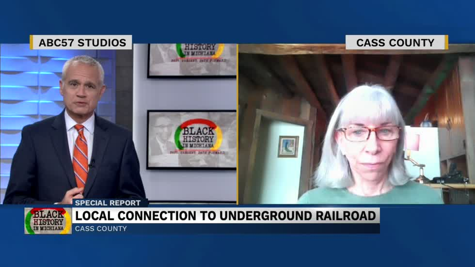 Cathy LaPointe speaks about Michiana's connection to the Underground Railroad