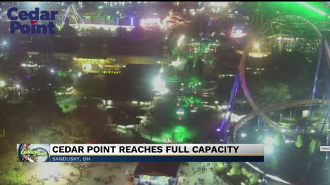 Cedar Point sees historic crowd, forced to turn visitors away for first time ever