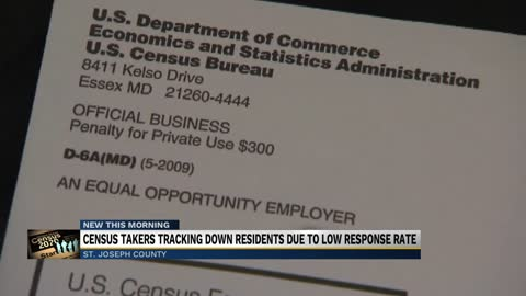 Census takers begin going door-to-door in Michiana