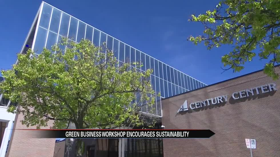 Century Center celebrates one-year anniversary since going green