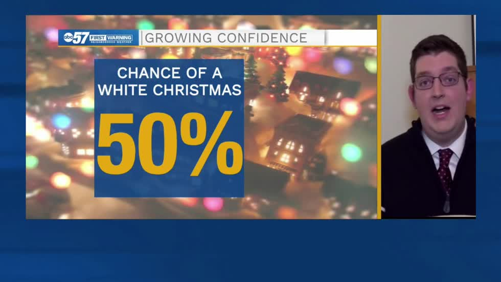 Chances increasing for a white Christmas across Michiana
