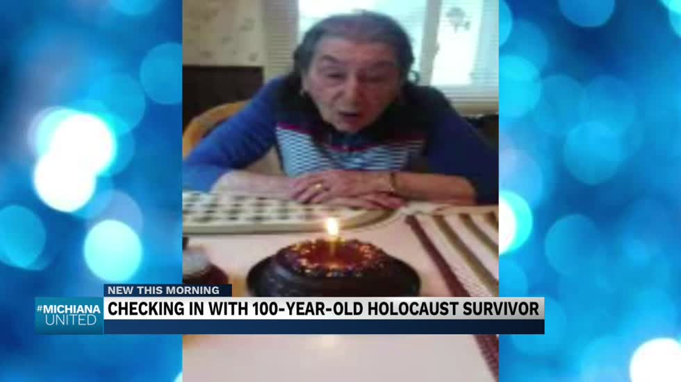 Checking in with 100-year-old Holocaust survivor