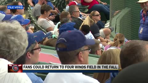 Chicago Cubs will use Four Winds Field for summer training camp...
