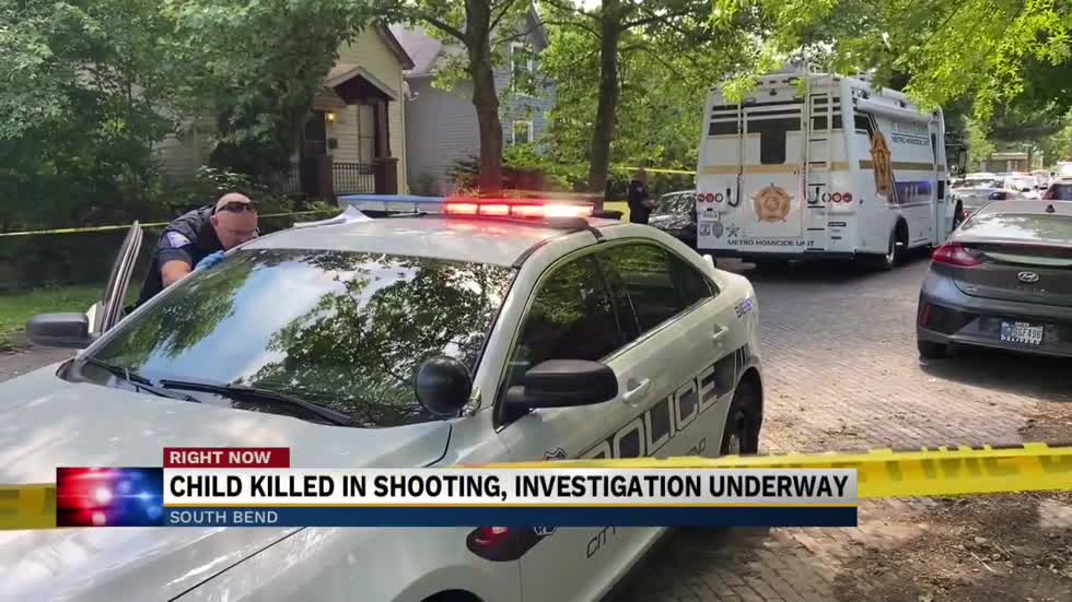 Child killed in shooting in South Bend, CMHU investigating