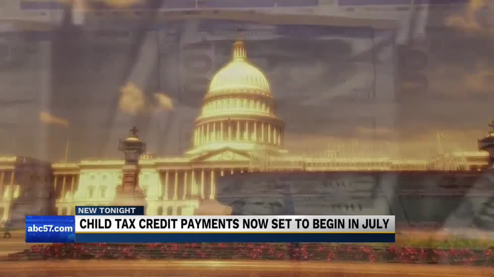 Child tax credit payments set to begin in July