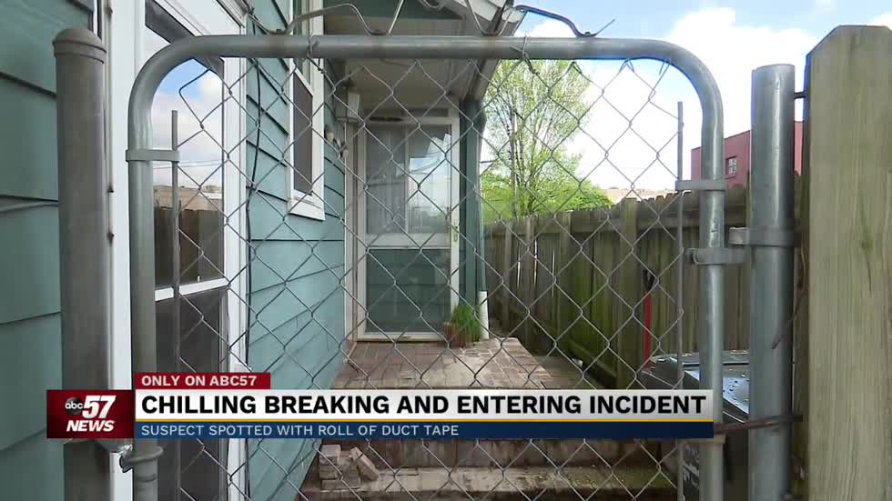 Neighbors react to man breaking into South Bend home