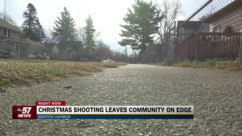 Christmas shooting in Benton Harbor