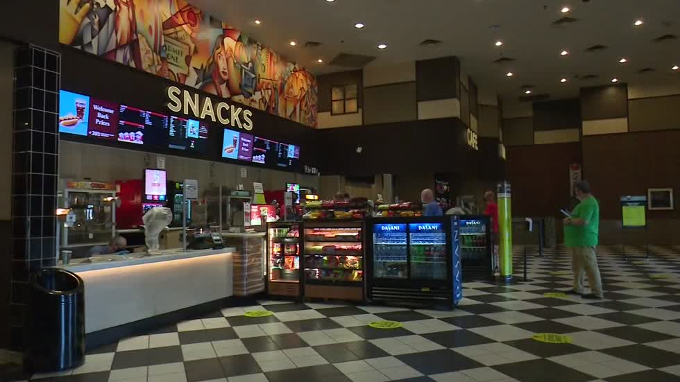 Cinemark theaters reopening for movie-goers