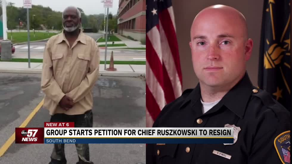 Citizens start petition calling for South Bend Police Chief's resignation