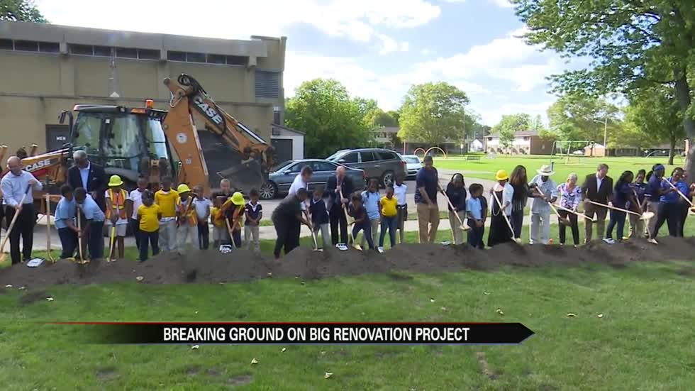 City breaks ground on Charles Black Recreation Center renovation project