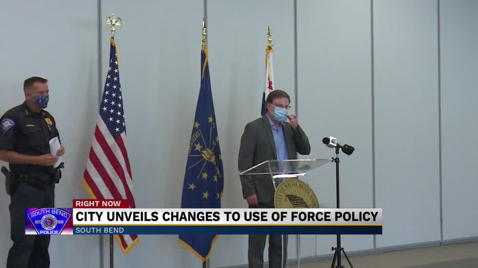 City unveils changes to use of force policy