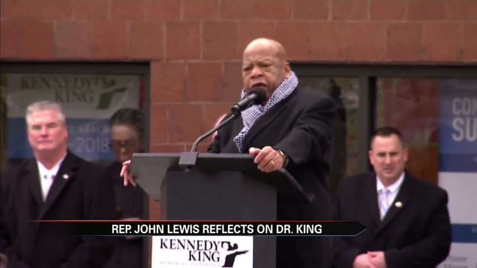 Civil Rights leader returns to Indianapolis to honor MLK