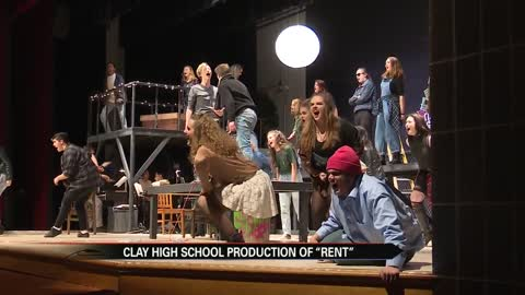 "Clay theater students set to perform ""Rent"" Thursday"