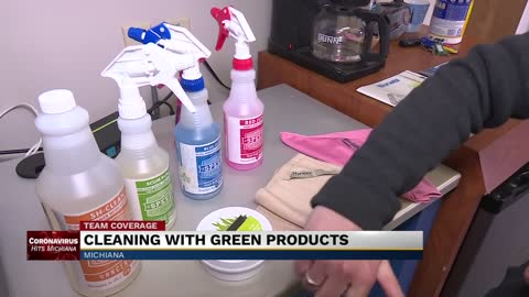 How to clean with green products during the coronavirus outbreak