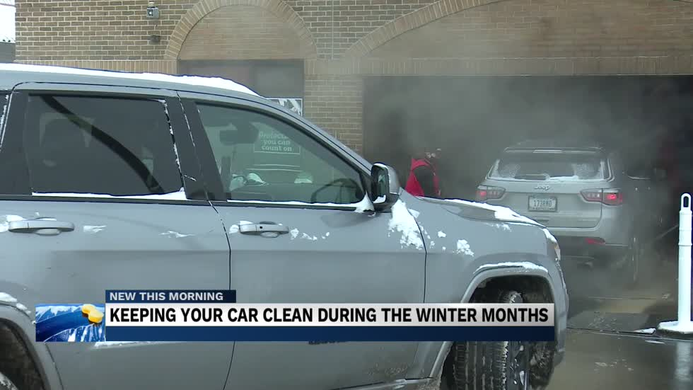 How important is cleaning your car during winter months