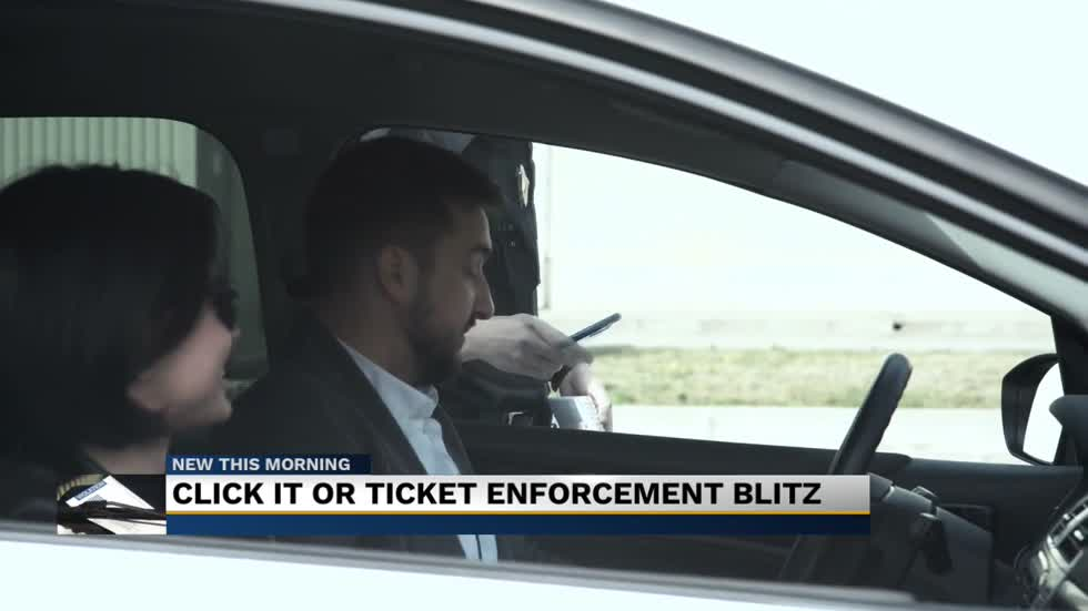 'Click it or ticket' campaign blitz