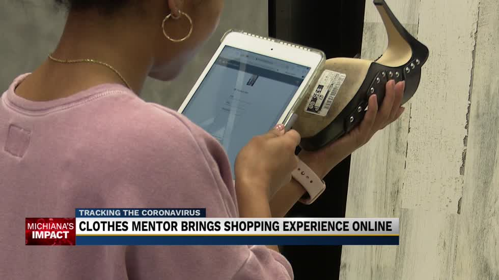 Clothes Mentor brings shopping experience online