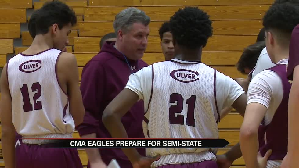 CMA Eagles preparing for Semi-State