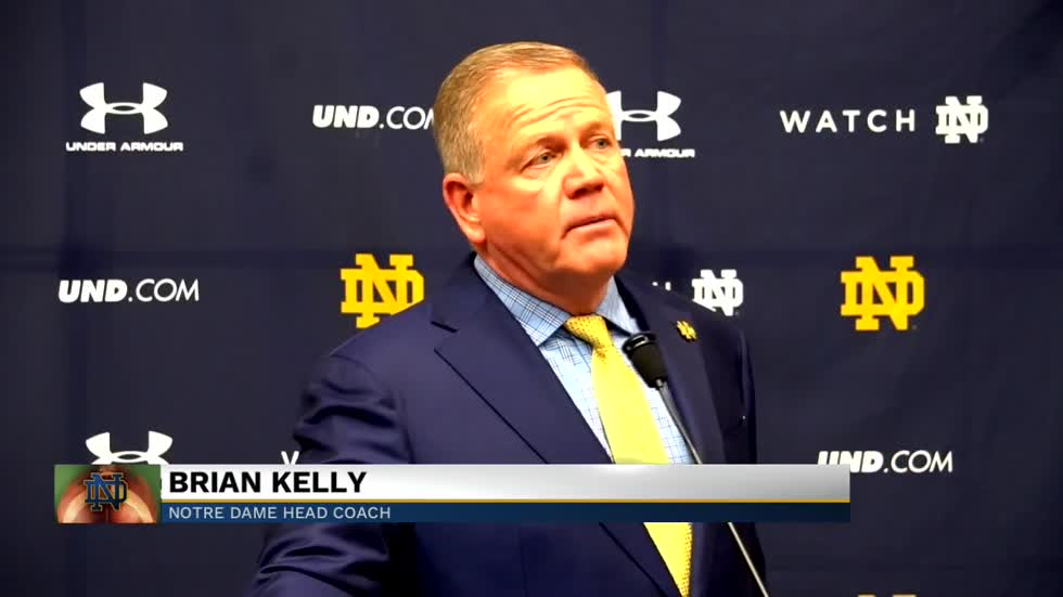 Coach Kelly confident in Ian Book as they head to North Carolina
