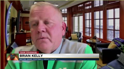 Coach Kelly discusses training camp and COVID-19 challenges