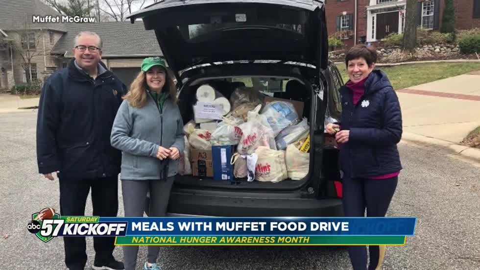 Coach McGraw starts Meals With Muffet to fight hunger