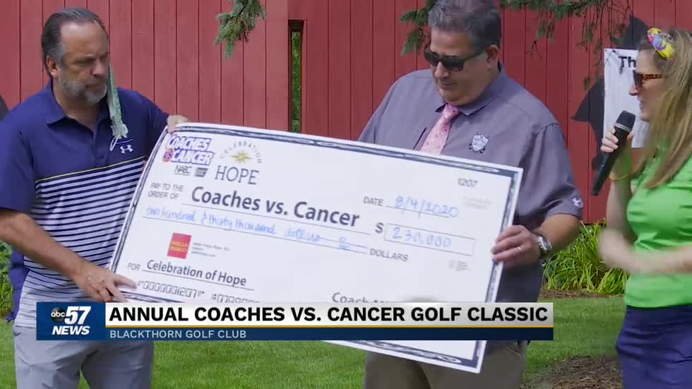 Coaches versus cancer event raises money with the help of Mike Brey