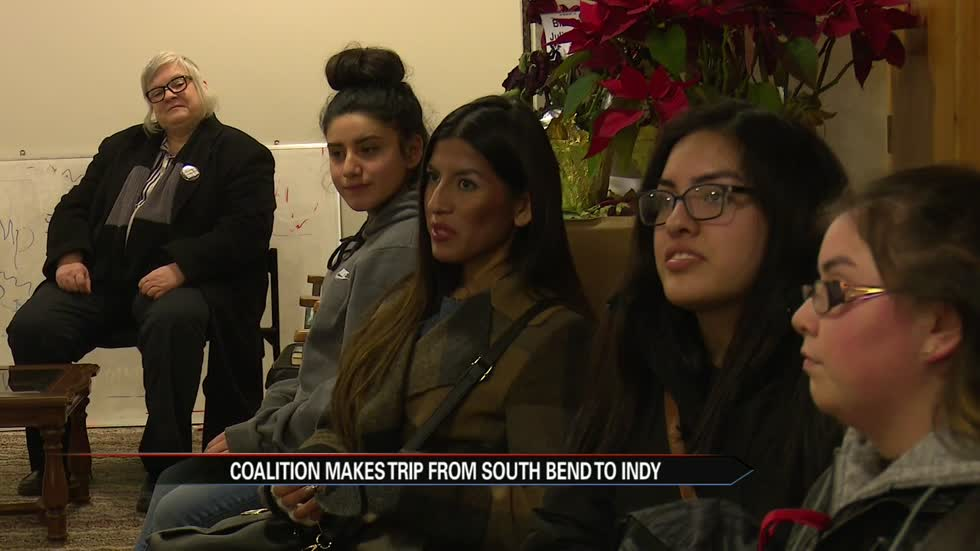 South Bend community members take trip to Indy to make their voices heard