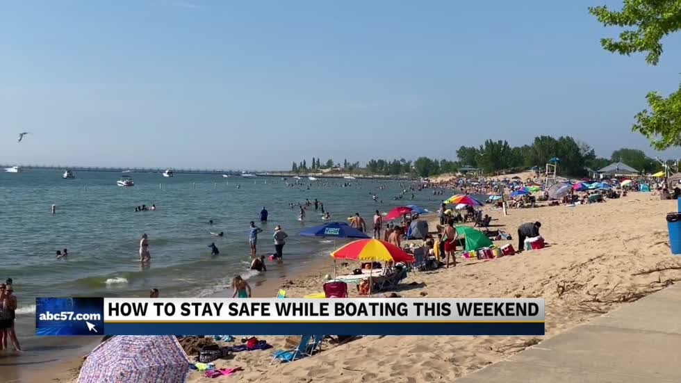Coast Guard's water safety reminders ahead of holiday weekend