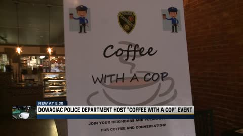 Coffee with a Cop spills into Michigan