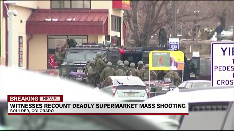 Witnesses recount deadly supermarket shooting