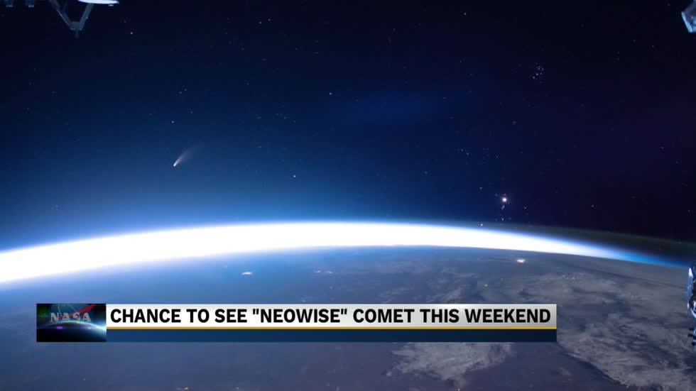 Comet NEOWISE will be visible to the naked eye early Saturday morning